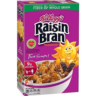 Kelloggs Raisin Bran Cereal, 13.7 oz. Box, 6/Pack