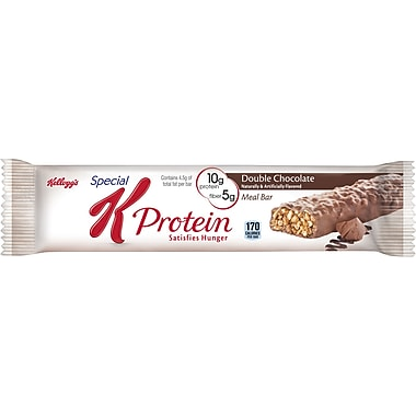 Kelloggs Special K Protein Double Chocolate Meal Bars, 1.59 oz. Bars, 16/Pack