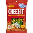 Kelloggs Cheez-It Baked Snack Crackers, Hot & Spicy, 3 oz., 24/Pack