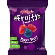 Kelloggs Mixed Berry Fruity Snacks, 2.5 oz., 32/Pack