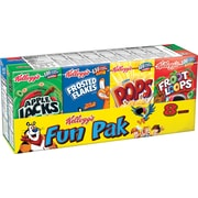 Kelloggs Cereal Fun Pack, 12 oz. Boxes, 48/Pack