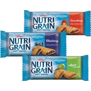 Snack Attack Nutri-Grain® Bars, Assorted Flavors, 24/Bx