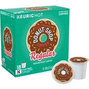 The Original Donut Shop® Coffee, Regular or Decaf Keurig® K-Cup® Pods, Assorted Pack Sizes