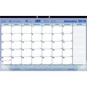 "Brownline® 2016 Monthly Desk Pad Calendar, Jan. - Dec., 17-3/4"" x 10-7/8"" (C181700)"