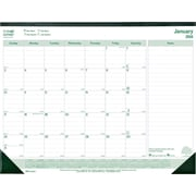 "Brownline® 2016 EcoLogix® 100% Recycled Monthly Desk Pad, Jan. - Dec. 22"" x 17"" (C177437)"