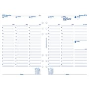 "Filofax® 2016 Weekly Refill, Jan. - Dec., A5 Size, 8-1/4"" x 5-3/4"" (C68521)"