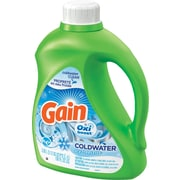 Gain® Coldwater HE Liquid Laundry Detergent with Oxi Boost, Icy Fresh Fizz, 100 oz.