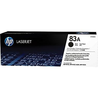 HP 83A (CF283AD) Black Original LaserJet Toner Cartridges, 2/Pack