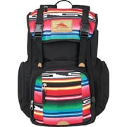 High Sierra Emmett Black/Serape1000-denier Duralite Backpack (63927-0772)