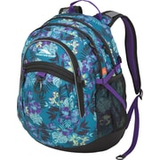 High Sierra Fat Boy Backpack, Aloha/Black/Deep Purple