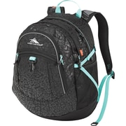 High Sierra Fat Boy Backpack, Chic Leopard/Blk/Aquamarine