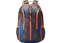 Reebok Axel Delta Backpack, Blue/Orange/Gray