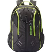 Reebok Axel Delta Backpack, Black/Electric Frog (yellow)