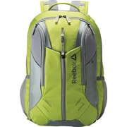 Reebok Axel Delta Backpack, Gray/Electric Frog