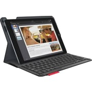 Logitech® Type+ Protective Case With Integrated Keyboard For iPad Air 2, Black (920-006912)
