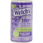 Welch's 100% Grape Juice 5.5 oz. Cans, 48/Case