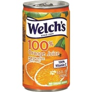 Welch's 100% Orange Juice 5.5 oz. Cans, 48/Case