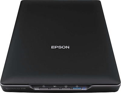 Epson Perfection V19 Color Photo and Document Scanner