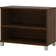 Pro-Linea 2-shelf bookcase in Oak Barrel