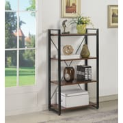 Staples® Axis Bookcase, Cherry Finish