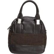 Walter by Walter Baker Lancia Satchel Handbag, Chocolate& Cognac