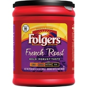 Folgers French Roast Ground Coffee, Regular, 10.3 oz. Can
