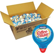 Nestle Coffee-mate Liquid Coffee Creamer Singles, French Vanilla, 180/Box