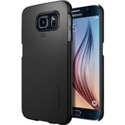 Spigen Galaxy S6 Case Thin Fit Series, Smooth Black