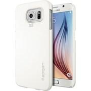 Spigen Galaxy S6 Case Thin Fit Series, Shimmery White