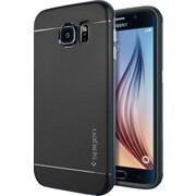 Spigen Galaxy S6 Case Neo Hybrid, Metal Slate