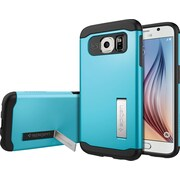 Spigen Galaxy S6 Case Slim Armor, Blue Topaz