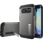 Spigen Galaxy S6 Edge Case Slim Armor, Gunmetal