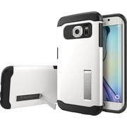 Spigen Galaxy S6 Edge Case Slim Armor, Shimmery White
