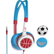 iFrogz Kid Safe Headphones, Blue