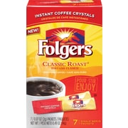 Folgers Classic Roast Instant Single Serve, 7 Packets