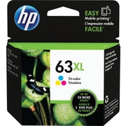 HP 63XL Tri-Color Ink Cartridge, High-Yield (F6U63AN#140)