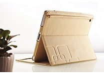 Noontec Gaze 2 Soft Baby Calf Leather Folio Case for iPad 2 & New iPad