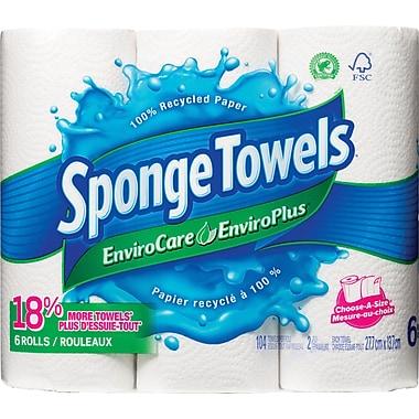 SpongeTowels® EnviroCare Paper Towels, 6-Pack