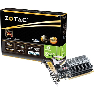 Zotac Geforce GT730 DDR3 Graphic Card, 2GB