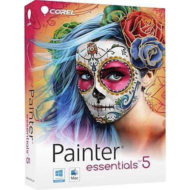 Corel – Logiciel Painter Essentials 5, effets photo et peinture, bilingue