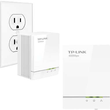 TP-LINK TL-PA6010KIT AV600 Gigabit Powerline Adapter Starter Kit
