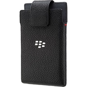 BlackBerry Leather Swivel Holster for BlackBerry Leap Smartphone, Black