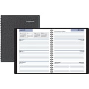 "DayMinder Executive Weekly Planner, Black, (G546-00-16), 6 7/8"" x 8 3/4"""