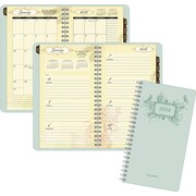 "2016 AT-A-GLANCE® Poetica Weekly/Monthly Planner, 3 3/4"" x 6 3/4"", Green, (772-300)"