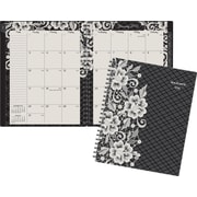 "AT-A-GLANCE® Lacey Monthly Planner, 8 1/2"" x 11"", Design, (141-900)"
