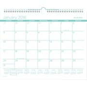 "2016 AT-A-GLANCE® Color Play Wall Calendar, January-December, Teal, (PMCP8T-42), 15"" x 12"""