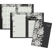 "2016 AT-A-GLANCE® Lacey Desk Weekly/Monthly Planner, 4 7/8"" x 8"", Design, (141-200)"