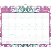 "2016 AT-A-GLANCE® Taryn Wall Calendar, January-December, Design, (W142-707), 14 7/8"" x 11 7/8"""