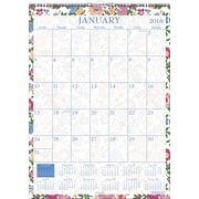 "2016 Staples® Small Floral Wall Calendar, 8"" x 11"", Design, (2809716)"