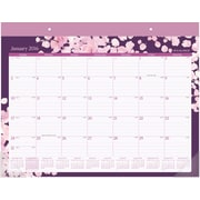"2016 AT-A-GLANCE® Rosalita Desk Pad Calendar, January-December, Design, (D156-704), 21 3/4"" x 15 1/2"""
